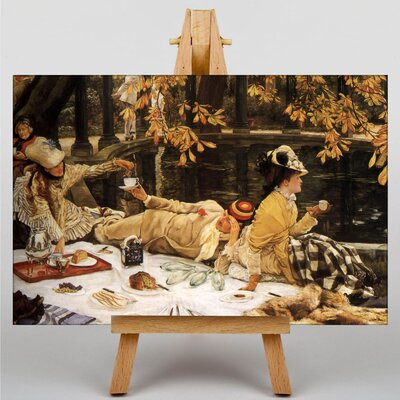 Big Box Art Holliday by James Tissot Graphic Art on Canvas