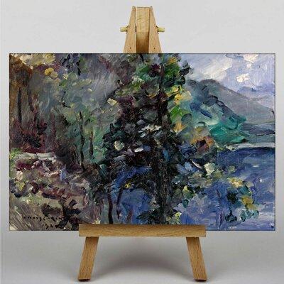 Big Box Art Walchensee Slopes by Lovis Corinth Art Print on Canvas