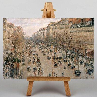 Big Box Art Boulevard Montmartre by Camille Pissaro Art Print on Canvas