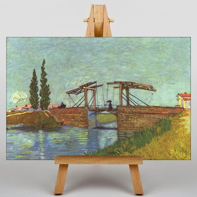 Big Box Art Bridge by Vincent Van Gogh Art Print on Canvas