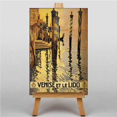 Big Box Art Venice Venise Graphic Art on Canvas