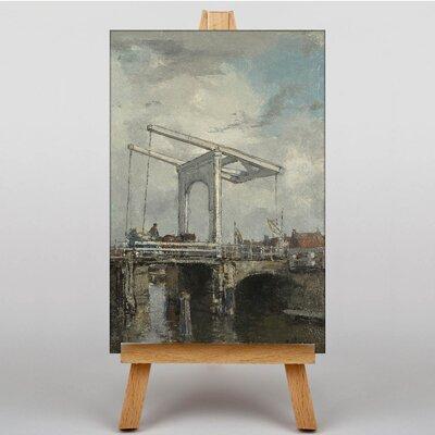 Big Box Art The Bridge by Jacob Maris Art Print on Canvas