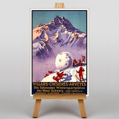 Big Box Art Villars Vintage Advertisement on Canvas