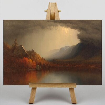 Big Box Art A Coming Storm by Martin Johnson Heade Art Print on Canvas