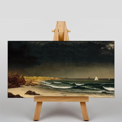Big Box Art Aproaching Storm by Martin Johnson Heade Art Print on Canvas