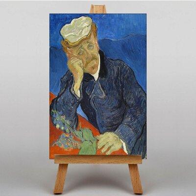 Big Box Art Dr Paul Gachet by Vincent Van Gogh Art Print on Canvas