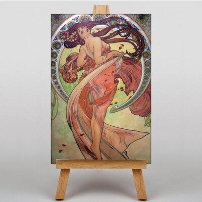 Big Box Art Dance by Alphonse Mucha Graphic Art on Canvas
