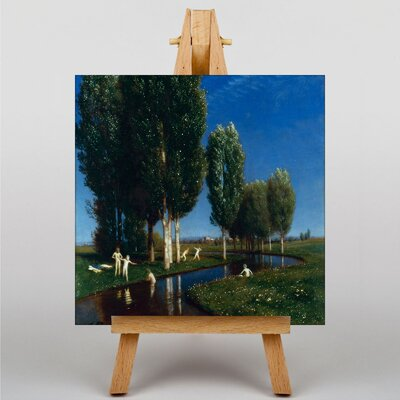 Big Box Art Summer Day by Arnold Bocklin Art Print on Canvas