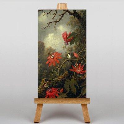 Big Box Art Flowers by Martin Johnson Heade Art Print on Canvas