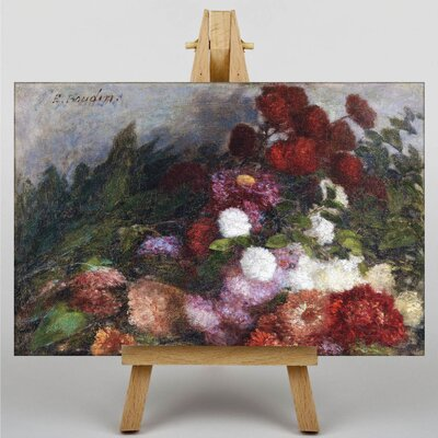 Big Box Art Flowers by Eugene Boudin Art Print on Canvas