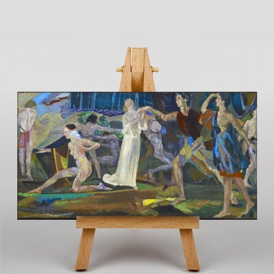 Big Box Art Freshness of the Wounded by Arthur Bowen Davies Art Print on Canvas