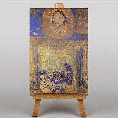 Big Box Art Evocation by Odilon Redon Art Print on Canvas