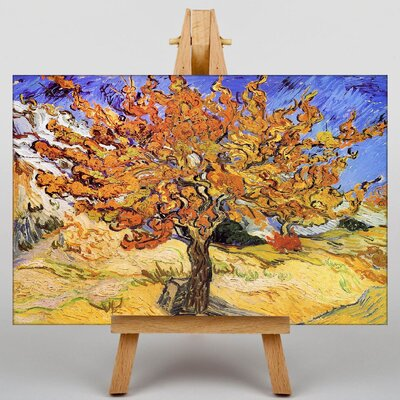Big Box Art Mulberry tree by Vincent Van Gogh Art Print on Canvas