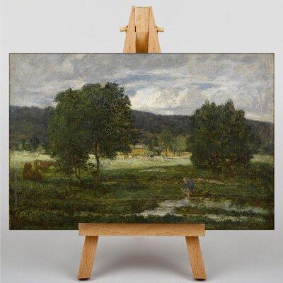 Big Box Art Paysage Boise by Eugene Boudin Art Print on Canvas