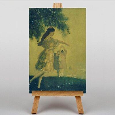 Big Box Art The Dancers by Arthur Bowen Davies Art Print on Canvas