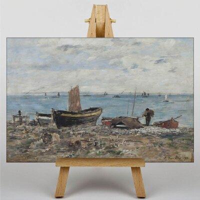 Big Box Art St. Adresse by Eugene Boudin Art Print on Canvas