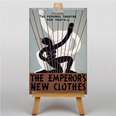 Big Box Art The Emperors New Clothes Vintage Advertisement on Canvas