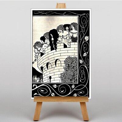 Big Box Art A Devil in Womans Likeness by Aubrey Beardsley Graphic Art on Canvas