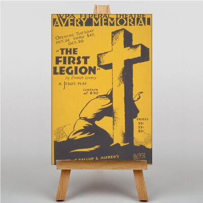 Big Box Art The First Legion Vintage Advertisement on Canvas