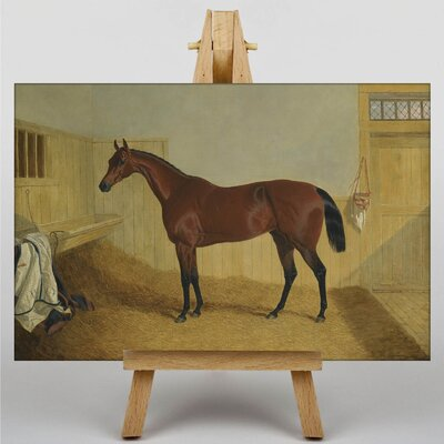 Big Box Art William Orde's Filly, Beeswing by John Frederick Herring Art Print on Canvas