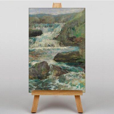 Big Box Art Waterfall by John Henry Twachtman Art Print on Canvas