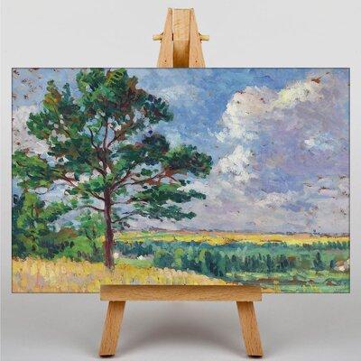 Big Box Art Parisian Landscape by Maximilien Luce Art Print on Canvas