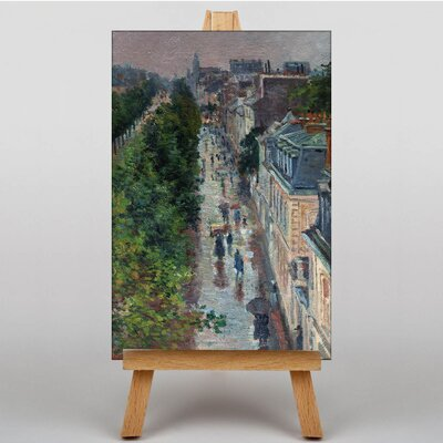 Big Box Art Street by Maximilien Luce Art Print on Canvas
