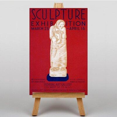 Big Box Art Exhibition No.29 Vintage Advertisement on Canvas