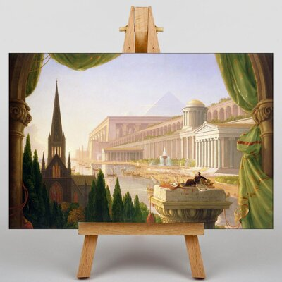 Big Box Art Architects Dream by Thomas Cole Art Print on Canvas