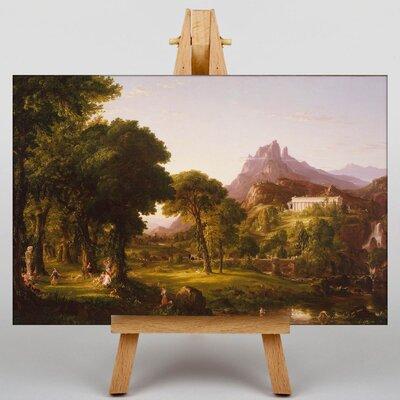 Big Box Art Dream of Arcadia by Thomas Cole Art Print on Canvas