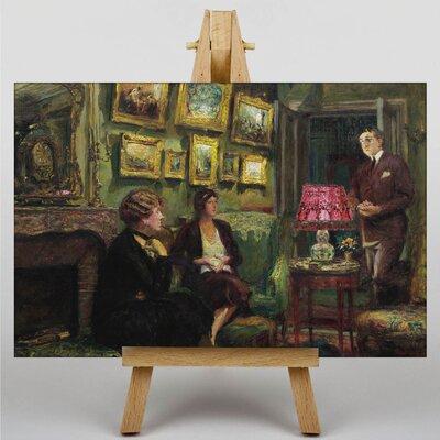 Big Box Art In the Lounge by Edouard Vuillard Art Print on Canvas