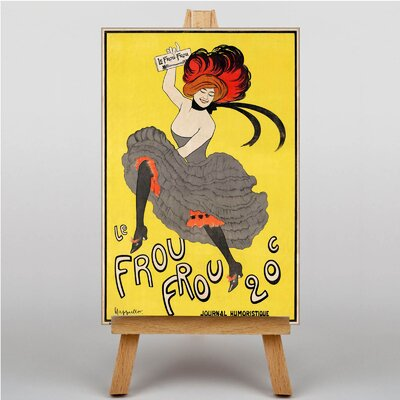 Big Box Art Le Frou Frou Art Print on Canvas
