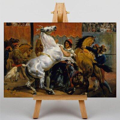 Big Box Art Start of the Race Riderless Horse by Gericault Theodore Art Print on Canvas
