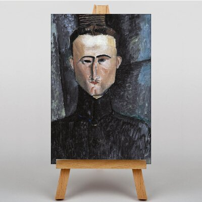 Big Box Art Andreu Rouveyre by Amedeo Modigliani Art Print on Canvas
