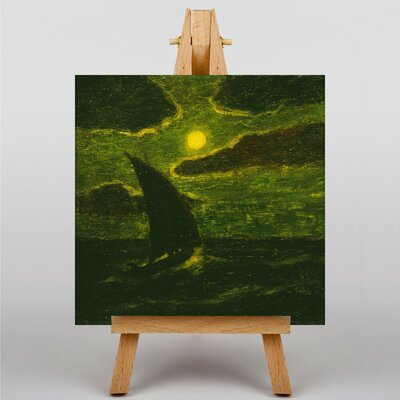 Big Box Art Sailing by Moonlight by Albert Pinkham-Ryder Art Print on Canvas