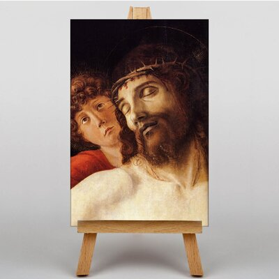 Big Box Art Christ Supported by Giovanni Bellini Art Print on Canvas