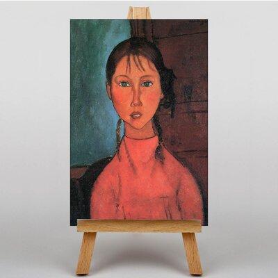 Big Box Art Portrait No.4 by Amedeo Modigliani Art Print on Canvas