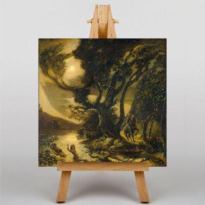 Big Box Art Siegfried and the Rhine Maidens by Albert Pinkham Ryder Art Print on Canvas