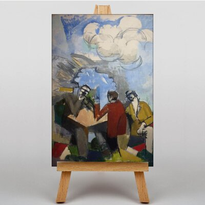 Big Box Art Conquest of the Air by Roger de la Fresnaye Art Print on Canvas