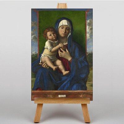 Big Box Art Madonna and Child No.1 by Giovanni Bellini Art Print on Canvas