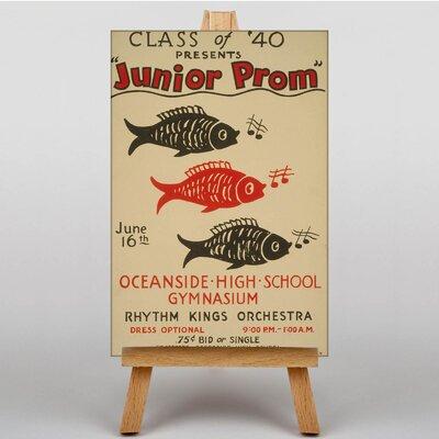 Big Box Art Junior Prom Vintage Advertisement on Canvas