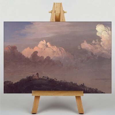 Big Box Art Church Landscape No.1 by Frederic Edwin Art Print on Canvas