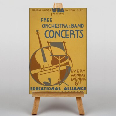 Big Box Art Orchestra and Band Vintage Advertisement on Canvas