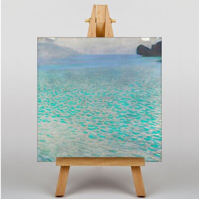 Big Box Art Lake Attersee No.3 by Gustav Klimt Art Print on Canvas