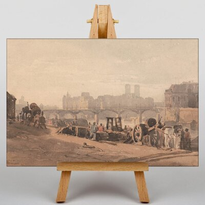 Big Box Art Outskirts of the City by Richard Bonington Art Print on Canvas