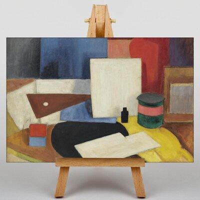 Big Box Art Still Life No.2 by Roger de la Fresnaye Art Print on Canvas