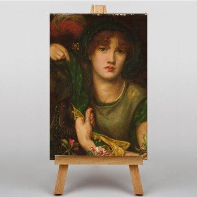 Big Box Art My Lady Greensleeves by Dante Gabriel Rossetti Art Print on Canvas