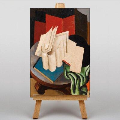 Big Box Art Fresnaye Still Life by Roger de la Fresnaye Art Print on Canvas