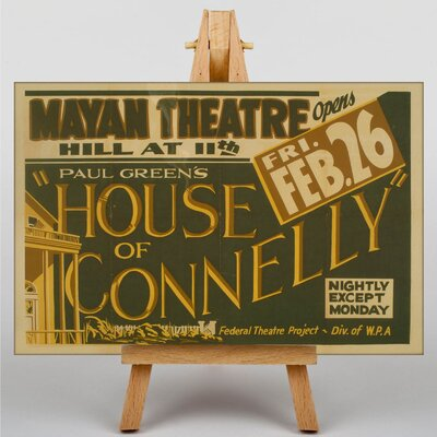 Big Box Art House of Connelly Vintage Advertisement on Canvas