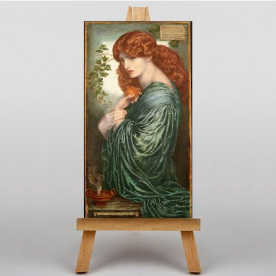Big Box Art Proserpine by Dante Gabriel Rossetti Art Print on Canvas